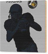Purdue Football Wood Print