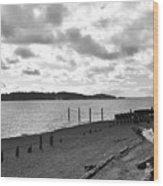 Purdy Beach Wood Print