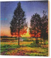 Pure Nature Wood Print