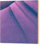 Purple And Bold Wood Print
