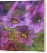 Purple And Yellow Morning 9121 Idp_2 Wood Print