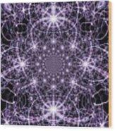 Purple Celeste  Wood Print