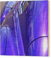 Purple Chevrolet Wood Print