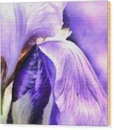Purple Life Wood Print