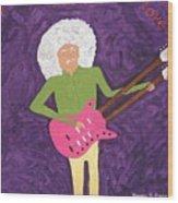Purple Love Wood Print