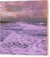 Purple Majesty  Wood Print by Betsy Knapp