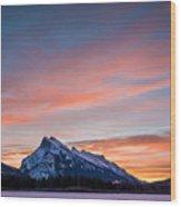 Purple Morning  Wood Print