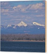 Purple Mountains Majesty Wood Print by Brent Parks