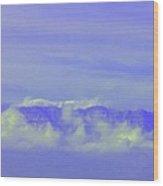 Purple Mountain's Majesty... Wood Print