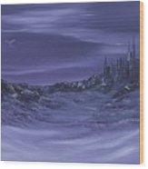 Purple Paradise Sold Wood Print