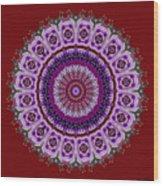 Purple Passion No. 2 Wood Print