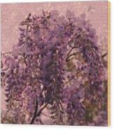 Purple Pleasures Wood Print