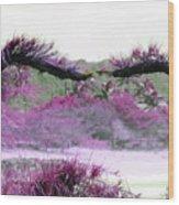 Purple Sensation Wood Print