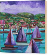 Purple Skies Over St. John Wood Print