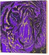 Purple Tiger Wood Print