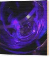 Purple Wine Wood Print
