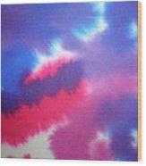 Purple Wisp Wood Print