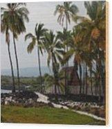 Puuhonua O Honaunau National Historical Park Wood Print