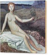 Puvis De Chav: Lesperance Wood Print