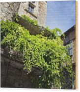 Puy L'eveque Old Stone House Wood Print
