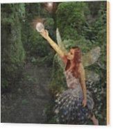 Puzzlewood Fairy Wood Print