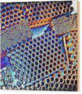 Pvc Abstract Wood Print