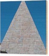 Pyramid Of Caius Cestius Wood Print