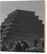 Pyramid Wood Print