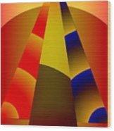 Pyramids Pendulum Wood Print