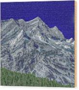 Pyrenees Astazous Mountain Wood Print