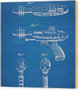 Pyrotomic Disintegrator Pistol Patent Wood Print
