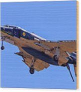 Qf-4 Phantom II 3 Wood Print