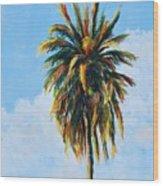 Quad Palms 4 Of 4 Wood Print