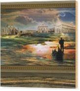 Quadro Nel Museo Del Surrealismo Wood Print