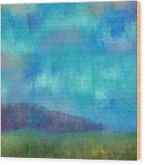Quaint Countryside Wood Print