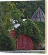 Quaint Red Barn  Wood Print