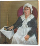 Quaker Lady Wood Print