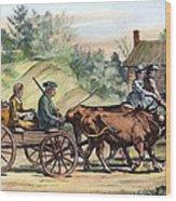 Quakers, 1776 Wood Print