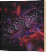 Quantum Bubbles Wood Print