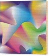 Quantum Landscape 2 Wood Print