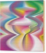 Quantum Landscape 3 Wood Print