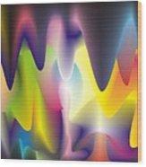 Quantum Landscape 6 Wood Print