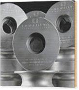 Quantum Machinery Blades  Tooling Wood Print