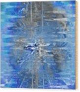 Quantum Reflections Wood Print