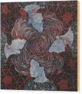 Quaternity Wood Print
