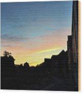 Quayside Sunrise 4 Wood Print