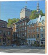 Quebec City 46 Wood Print