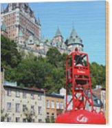 Quebec City 57 Wood Print