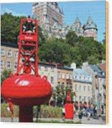 Quebec City 58 Wood Print