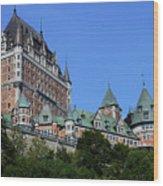 Quebec City 59 Wood Print
